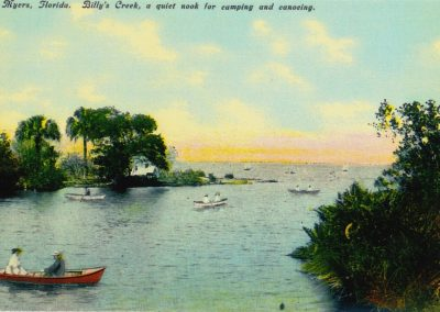 Postcard of Billy's Creek
